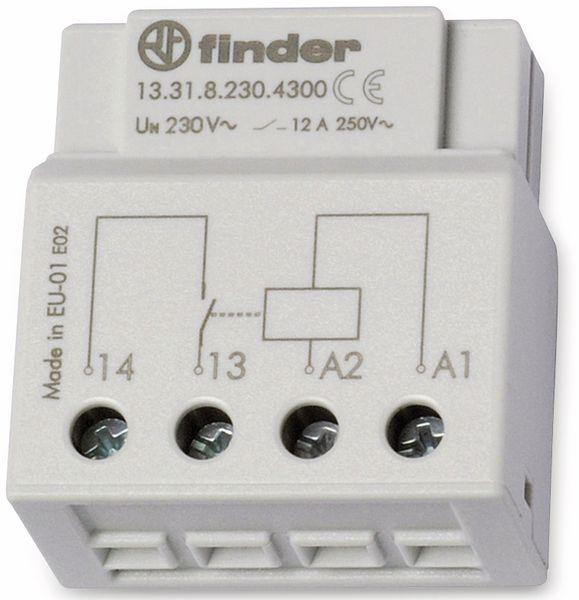 Schaltrelais FINDER, 230 V, 12 A, 13.31.8.230.4300, UP