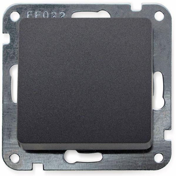 Wechselschalter MILOS 23037, 16A/250V~, anthrazit