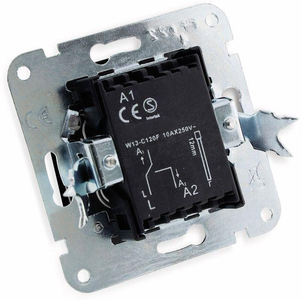 Wechselschalter MILOS 23037, 16A/250V~, anthrazit - Produktbild 2