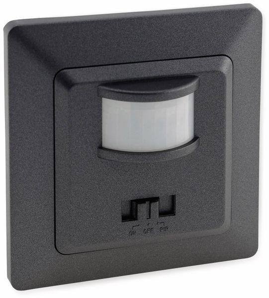 Bewegungsmelder MILOS 23044, 400 W, 250V~, 160°, LED geeignet, anthrazit
