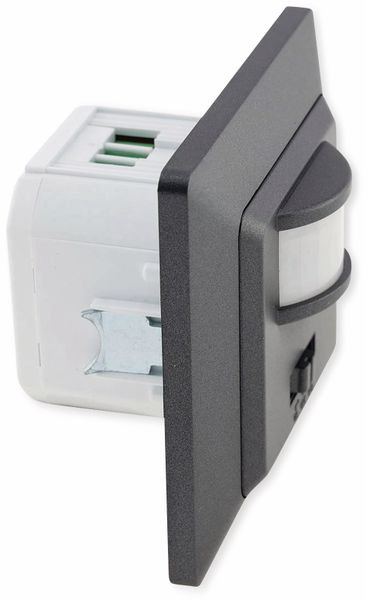 Bewegungsmelder MILOS 23044, 400 W, 250V~, 160°, LED geeignet, anthrazit - Produktbild 3