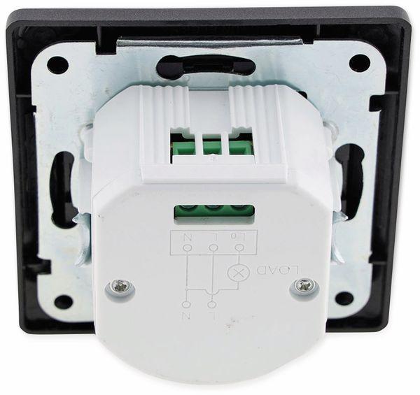 Bewegungsmelder MILOS 23044, 400 W, 250V~, 160°, LED geeignet, anthrazit - Produktbild 4