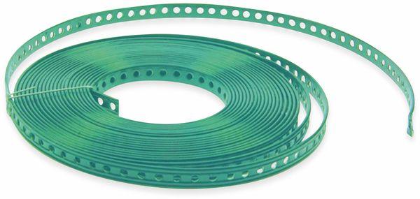Montage-Lochband, 10 m, 19x2,6 mm, kunststoffummantelt