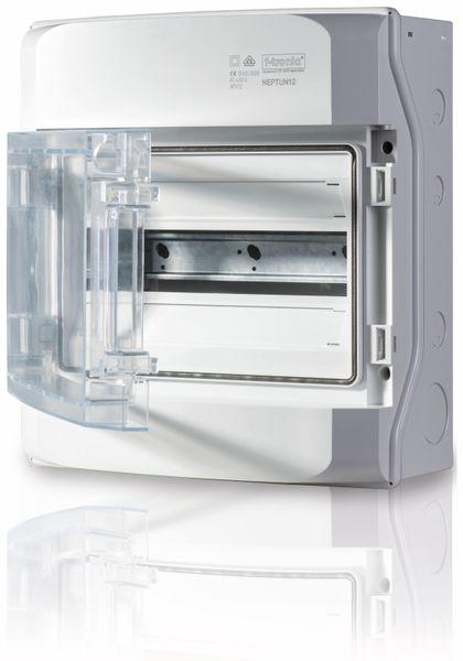 Kleinverteiler F-TRONIC Neptun12, AP, IP65, mit Belüftungssystem, 1-Reihig