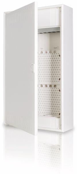 Kommunikationsverteiler F-TRONIC, AP, APV48K, mit 3-fach Steckdose, 4-Reihig - Produktbild 3
