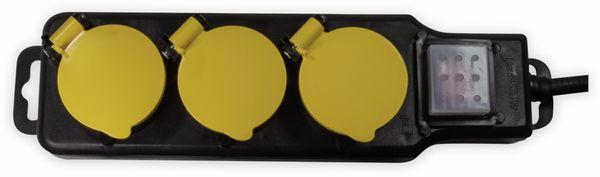 Steckdosenleiste LOGILINK LPS253, 3-fach, 3x CEE 7/3, Outdoor - Produktbild 2