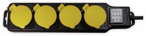 Steckdosenleiste LOGILINK LPS254, 4-fach, 4x CEE 7/3, Outdoor - Produktbild 2