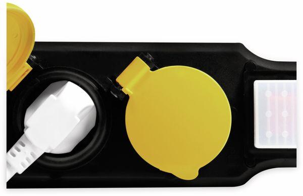 Steckdosenleiste LOGILINK LPS254, 4-fach, 4x CEE 7/3, Outdoor - Produktbild 5