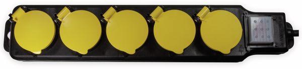 Steckdosenleiste LOGILINK LPS255, 5-fach, 5x CEE 7/3, Outdoor - Produktbild 2