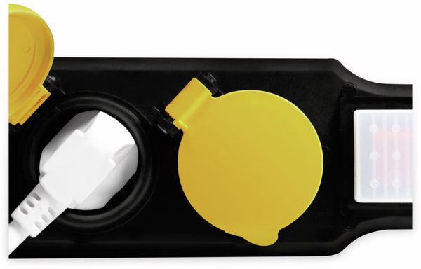 Steckdosenleiste LOGILINK LPS256, 6-fach, 6x CEE 7/3, Outdoor - Produktbild 3