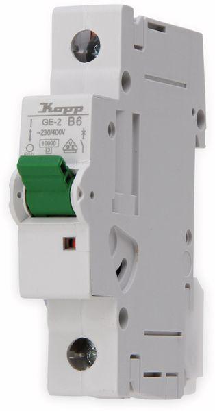 Leitungsschutzschalter KOPP 720600003, 6A, 1-polig, Char. B