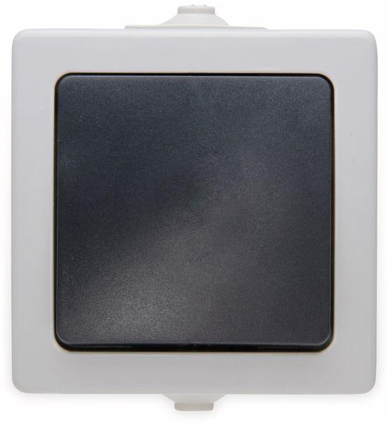 Feuchtraum-Schalter KOPP Nautic, grau
