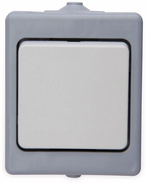 Feuchtraum-Schalter KOPP 563648004, grau