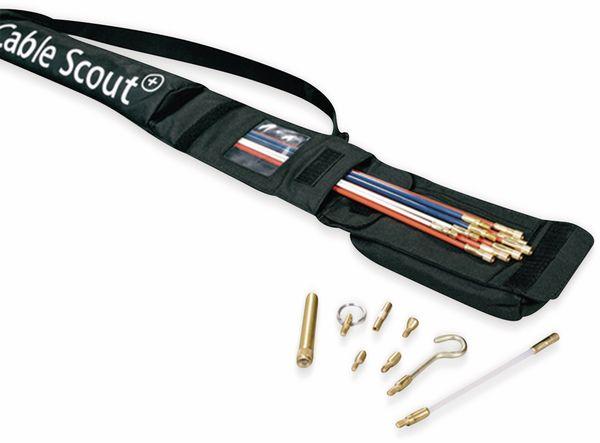 Kabeleinziehhilfe, HellermannTyton, 897-90001, Cable Scout+ Set CS-SD Luxus Set