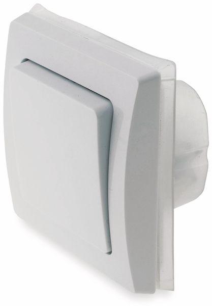Wechselschalter DELPHI 23235, IP44, 10A/250V~, weiß