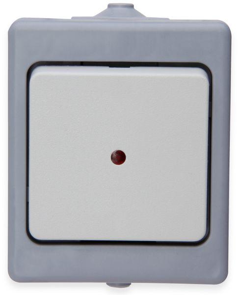 Feuchtraum-Kontrollschalter KOPP 564648005, grau