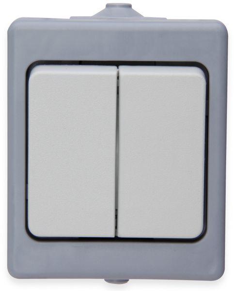 Feuchtraum-Serienschalter KOPP 563548001, grau