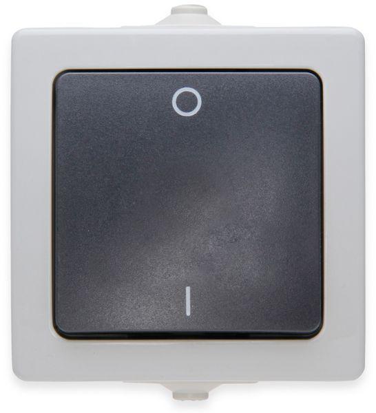Feuchtraum-Schalter KOPP Nautic 565256009, grau