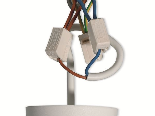 Verbindungsklemme, HellermannTyton, 148-90023, HECL-2/1, 0,5 - 2,5 mm², weiß, 1polig,100 Stück - Produktbild 3