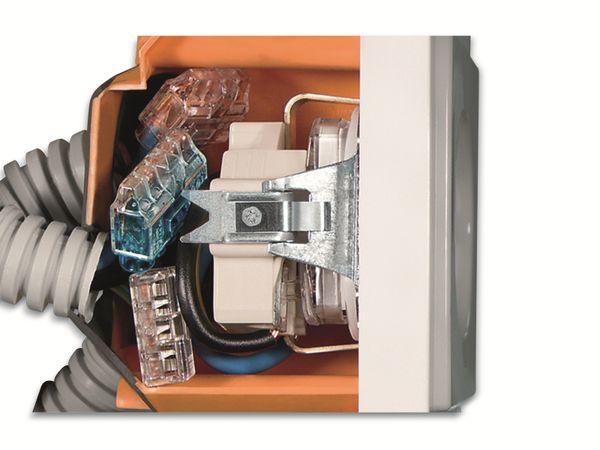 Verbindungsklemme, HellermannTyton, 148-90036, HCPM-2, 0,5 - 2,5 mm², gelb, 2polig, 150 Stück - Produktbild 4