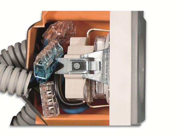 Verbindungsklemme, HellermannTyton, 148-90037, HCPM-3, 0,5 - 2,5 mm², orange, 3polig, 100 Stück - Produktbild 4