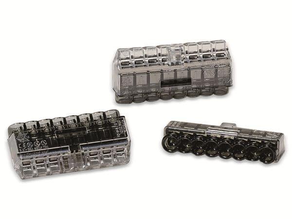 Verbindungsklemme, HellermannTyton, 148-90041, HCPM-8, 1,0 - 2,5 mm²schwarz, 50 Stück