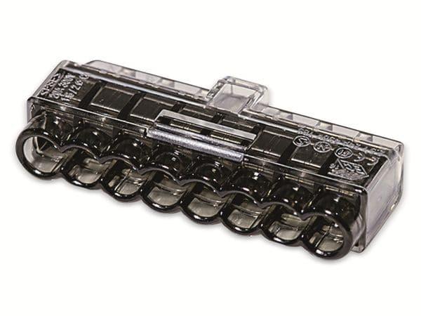 Verbindungsklemme, HellermannTyton, 148-90041, HCPM-8, 1,0 - 2,5 mm²schwarz, 50 Stück - Produktbild 2
