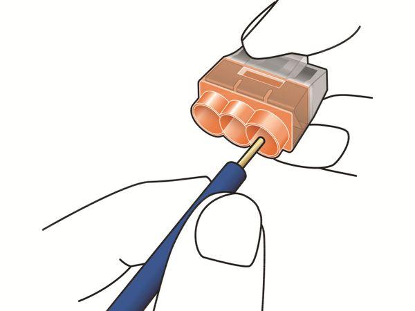 Verbindungsklemme, HellermannTyton, 148-90041, HCPM-8, 1,0 - 2,5 mm²schwarz, 50 Stück - Produktbild 5