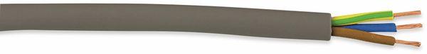 PVC-Schlauchleitung H03VV-F, 3G0,75, 25 m, grau