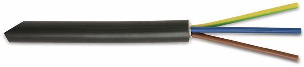 Erdkabel NYY-J 3x1,5mm², 10 m, schwarz