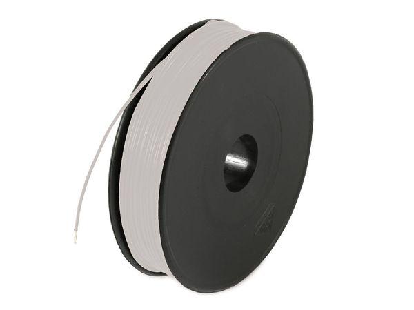 Schaltdraht YV, 0,8 mm, grau