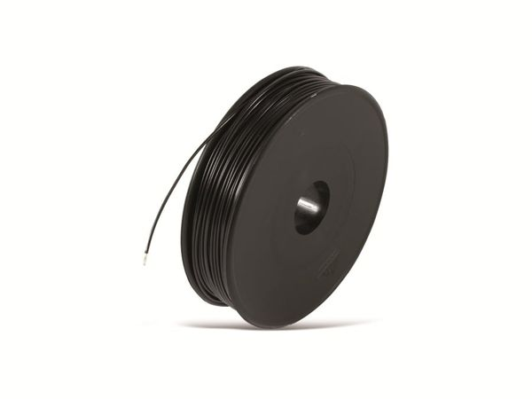 Schaltdraht YV, 0,5 mm, schwarz