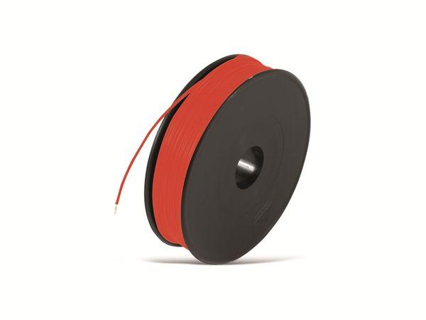 Schaltdraht YV, 0,8 mm, rot