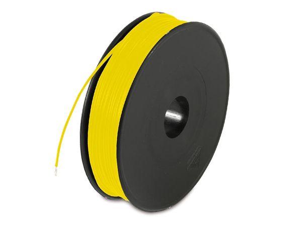 Schaltdraht YV, 0,8 mm, gelb
