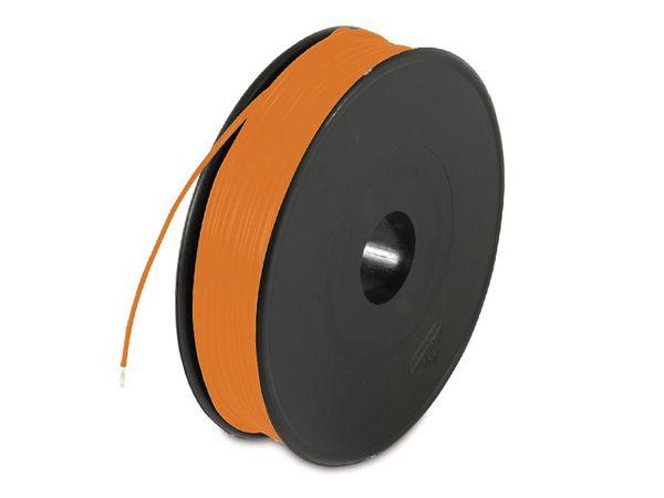 Schaltdraht YV, 0,8 mm, orange