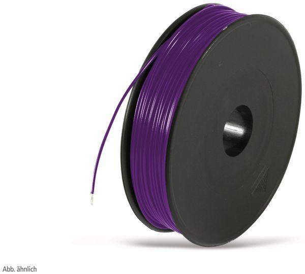 Schaltdraht YV, 0,5 mm, violett
