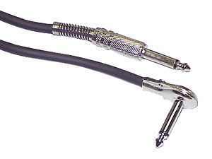 Klinken-Verbindungskabel 6,35 mm, 6 m