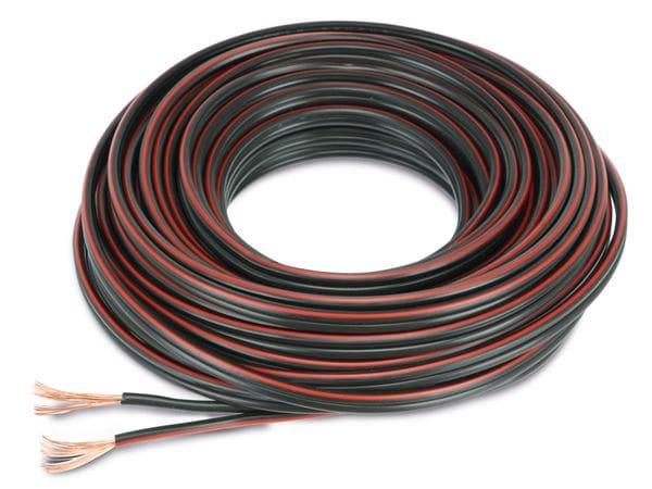 Lautsprecherkabel, 2x1,5 mm², 10m, farbig, CCA - Produktbild 2