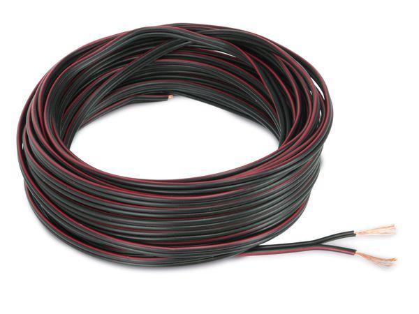 Lautsprecherkabel, 2x0,75 mm², 10m, farbig, CCA - Produktbild 2