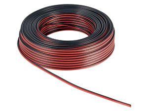 Lautsprecherkabel, 2x0,75 mm², 25m, farbig, CCA - Produktbild 2