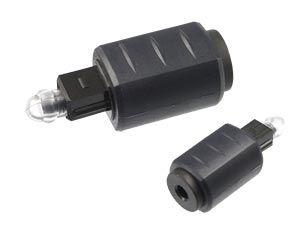 Toslink-Adapter LOGILINK CA1016, Toslink auf 3,5 mm Mini Toslink, schwarz