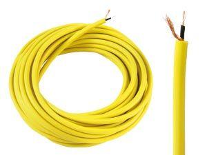 Instrumentenkabel, gelb
