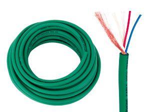 Mikrofonkabel CORDIAL CMK222, grün, 10 m