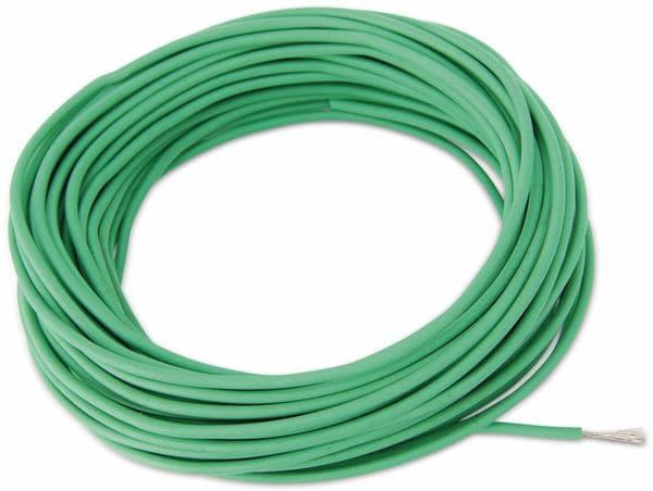 Silikon-Litze, 1,5 mm², grün, 10 m