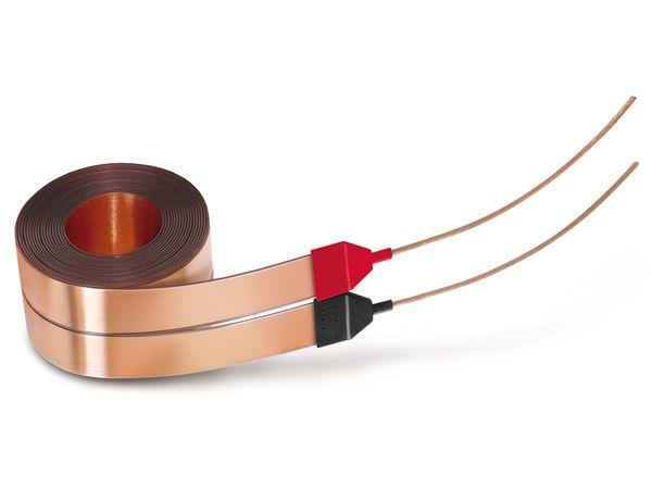 Flachband-Lautsprecherkabel DYNAVOX, 2x3 m - Produktbild 1