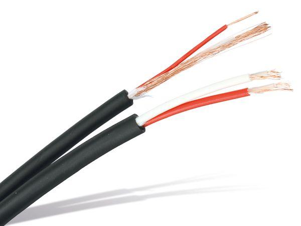 NF-Leitungen, 2 Stück, je 10 m