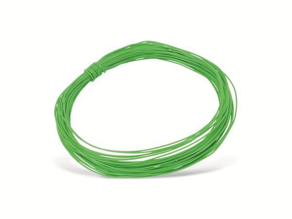 Schaltdraht YV, 0,3 mm, grün, 10 m