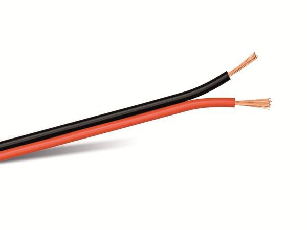 Lautsprecherkabel, 2x0,75 mm², 100m, farbig, CCA