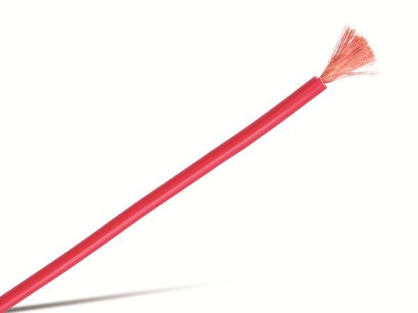 Schaltlitze höchstflexibel LifYY, 0,75 mm², 10 m, rot