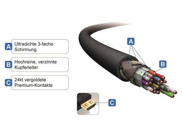 HDMI-Kabel PURELINK Pureinstall PI1000-005, 0,5 m - Produktbild 4